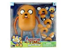 FIGURE ADVENTURE DELUXE JAKE 25 CM TIME CARTOON NETWORK FYNN FINN CANE DOG #1