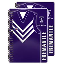 Fremantle Dockers AFL Team A5 Guernsey Notebooks 2 Pack