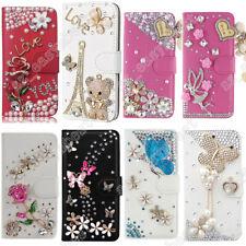 Handmade Leather Card Holder Wallet Case Cover For LG Q51 Q8 Q7 Q6 G8 G5 V30