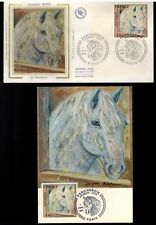 1978/FRANCE-FDC CP+ENVELOPPE*PERCHERON-CHEVAL-J.BIRR/OBL.PARIS**TIMBRE..Y/T.1982