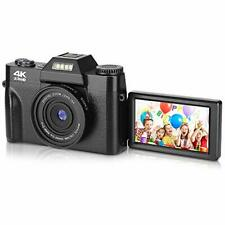 BZK CT-2 Digital Camera, 4.0K 48MP Full HD Vlogging 16X...