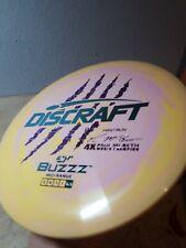 Discraft First Run Paul McBeth swirl ESP Buzzz 4x McBuzzz