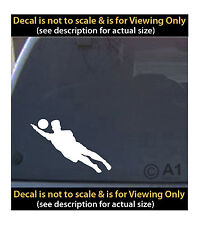 volleyball dive 6 inch decal 4 car truck home laptop quality made in usa SPT98