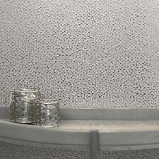 Mineral Silver Mini Mosaic Wallpaper Metallic Foil Effect by Arthouse 294201
