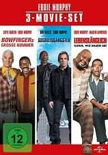EDDIE MURPHY-3 MOVIE SET  3 DVD NEU