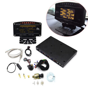 Advance Digital Racing Gauge Kit Tachometer Turbo Boost Air Fuel Ratio EGT 10in1
