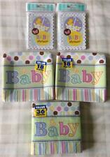 Unisex Baby Shower Party Tableware Bundle For 16 + ~ Invitations Plates Napkins