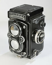 ROLLEIFLEX 3.5E CAMERA - K4C METERED with ZEISS PLANAR 3.5F 75MM LENS