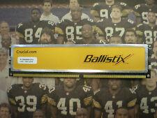 Crucial Ballistix 1GB  DDR2 PC2-6400  240 PIN   DESKTOP RAM   BL12864AA804.8FE5