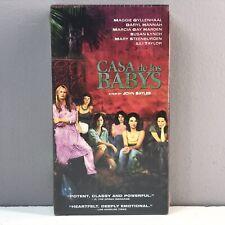 NEW & FACTORY SEALED Casa de los Babys VHS VIDEO CASSETTE TAPE John Sayles 2003