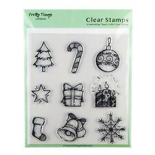 Sello conjunto Claro Árbol de Navidad Adorno Star 9 sellos grandes cosas bonitas Londres