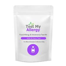 Test My Allergy - Latte E Latticini Cibo Intolleranza Test Kit