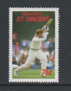 St Vincent Grenadines - 1988, Cricketer, M D Crowe stamp - MNH - SG 575