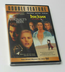 THE ASTRONAUT'S WIFE & DON JUAN DEMARCO Double Feature DVD BRAND NEW Johnny Depp