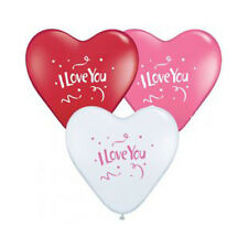 Party Supplies Wedding Love 38 cm Hearts Love You Latex Balloons Pack of 3