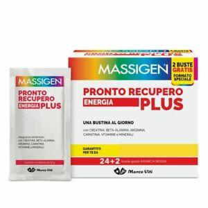 MASSIGEN PRONTO RECUPERO ENERGIA PLUS vitamine, minerali, creatina - 26 bustine