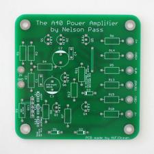 2x DIY PCB: A40 Class A Audio Power Amplifier