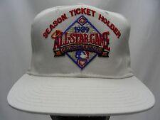CALIFORNIA ANGELS - VINTAGE 1989 ALL STAR GAME - NEW ERA SNAPBACK BALL CAP HAT!