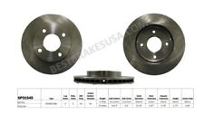 Disc Brake Rotor fits 2009-2011 Nissan Versa  BEST BRAKES USA