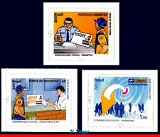 3185+3191+3197 BRAZIL 2011 POSTAL COMMUNICATIONS, POST, SET MNH