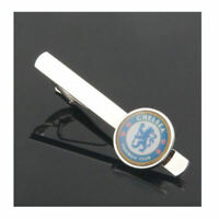 Tie Clip Clips Clasp Mens Manchester United Chelsea Football Club Wedding Bar UK