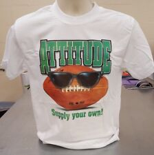 Football tshirt attitude supply your own sports apparel Small