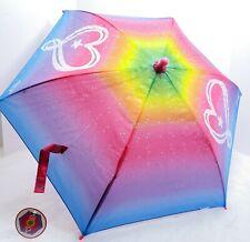 OFFICIAL JOJO SIWA CHARACTER BUBBLE DOME UMBRELLA BROLLY Sparkles Hearts Rainbow