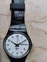 """Reloj Swatch Standard Caballero Modelo """"Classic Para """" GB726 Año 1997 Nuevo Raro"""