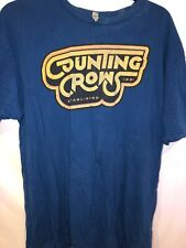 counting crows Blue Vintage T Shirt Xl Shirt Sleeve Cotton