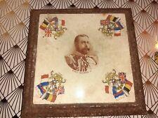 RARE Ceramic Tile JACKFIELD CRAVEN DUNHILL KING GEORGE V STAND