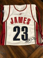 2003 Official NBA LeBron James Rookie Bag Cleveland Cavaliers Jersey Drawstring