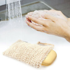 Home Hemp Exfoliating Hanging Cleaning Storage Bag Cleaning Soap Bags Accessory