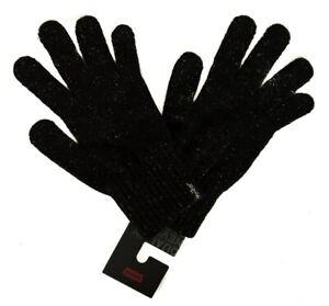 SG Guanti donna in acrilico guanto LEVI'S articolo 231106 lurex nt gloves - made