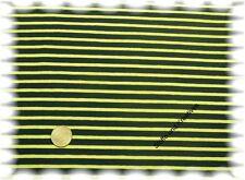 Campan Jersey dunkelblau,lime 50 cm Hilco Streifenjersey Streifenstoff nähen