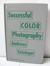 Successful Color Photography Book Andreas Feininger 1960 Third Edition Revised