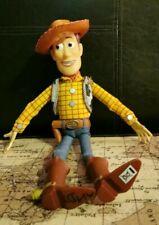 "Disney pixar Toy Story Talking Cowboy Woody Figure 15"""