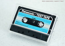 """PANASONIC QZZC-PD """"T.P.S. For Play Sweep S1g. 50/2kHz"""" TEST TAPE f. Tapedeck NOS"""
