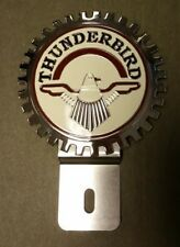 Thunder Bird  T-Bird  Accessory Grille Badge License Plate Topper,  A Great Gift