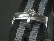 Rolex Buckle butterfly 18 mm otan zulu strap submariner oyster james bond nylon