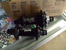 "PROFILE RACING ELITE RHD---16T---3/8"" CASSETTE BLACK BMX BICYCLE HUBSET"