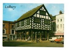 Herefordshire - Ledbury, The Market Hall - Postcard Franked 1991