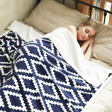 Yuuhum Ultra Soft Sherpa Fleece Throw Blanket Couch Sofa Plush Fuzzy Blanket