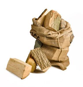 "Net British Kiln Dried Firewood ""Ready to Burn"" 13 kilos"