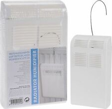 Set of 4 X Hanging Radiator Humidifier Plastic Dry Air Moisture Humidity Control