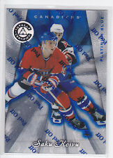 Saku Koivu , 1997-98 , Pinnacle Totally Certified Platinum Blue , #44, 1780/3099