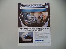 advertising Pubblicità 1982 CASCO BIEFFE