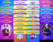 Early Readers Biographies Guided Reading Set History Pack Beginning Readers