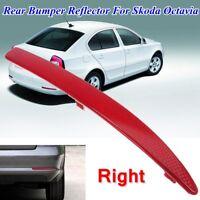 Rear Right Bumper Reflector Light Lamp For Skoda Octavia MK2 1Z O/S/R  & !