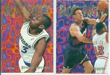 Not Autographed Single 1994-95 Basketball Trading Cards