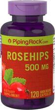 Rose Hips(Escaramujos9 500 mg.120capsulas (Vitamina C Natural)